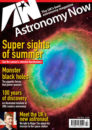 Astronomy Now July 2013 Cover