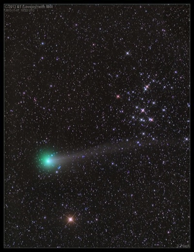 Comet Sky 2013 Comet 2013 r1 Lovejoy is a